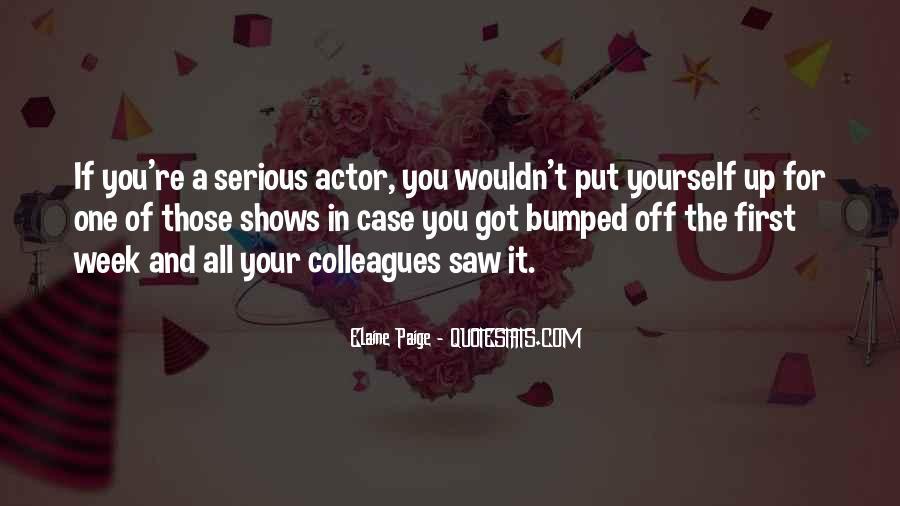 Elaine Paige Quotes #849580