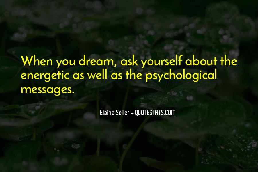 Elaine Seiler Quotes #176127