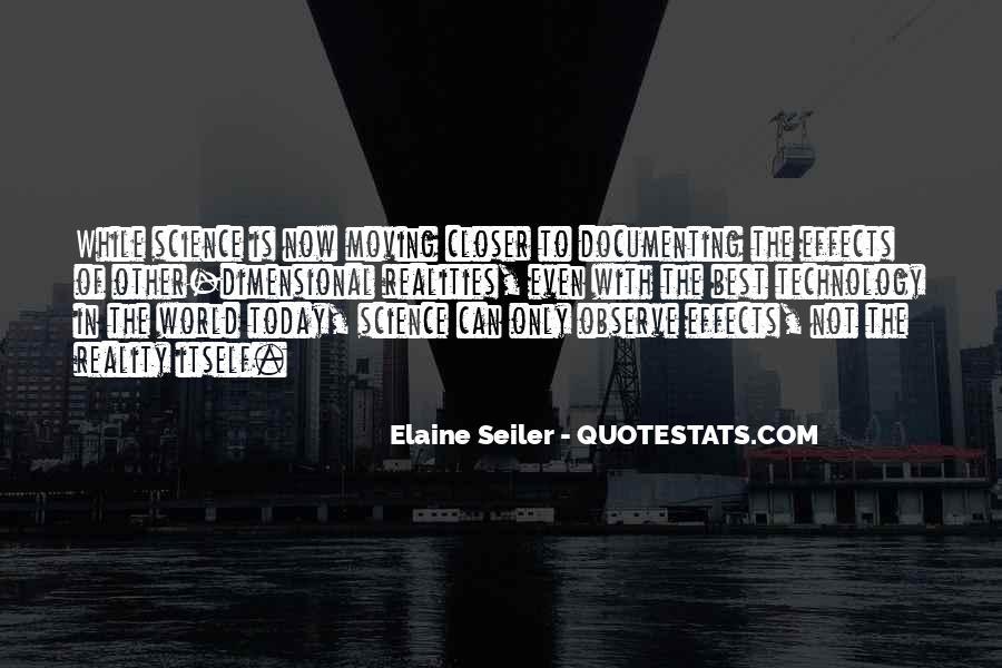 Elaine Seiler Quotes #1824088