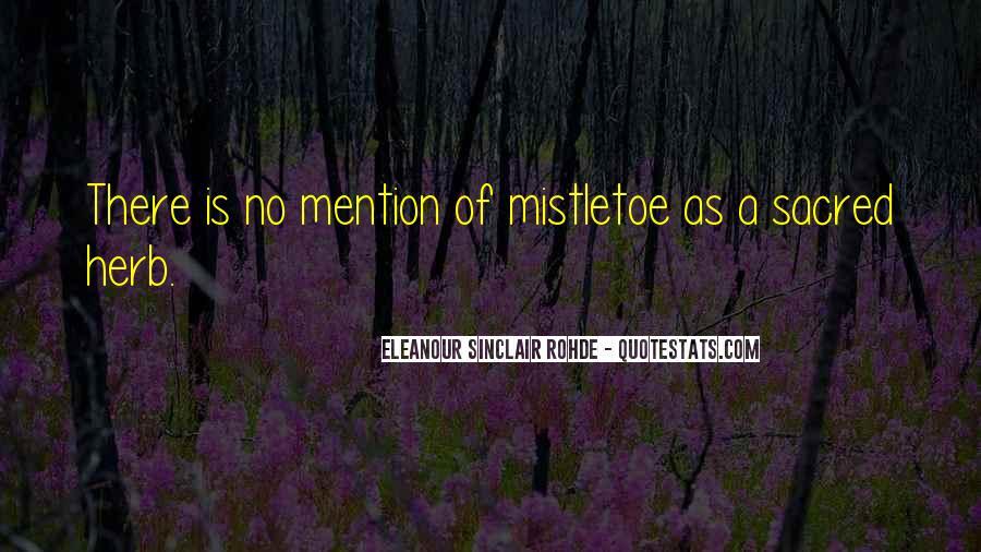Eleanour Sinclair Rohde Quotes #1519317