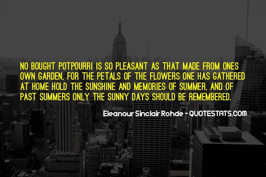 Eleanour Sinclair Rohde Quotes #78079