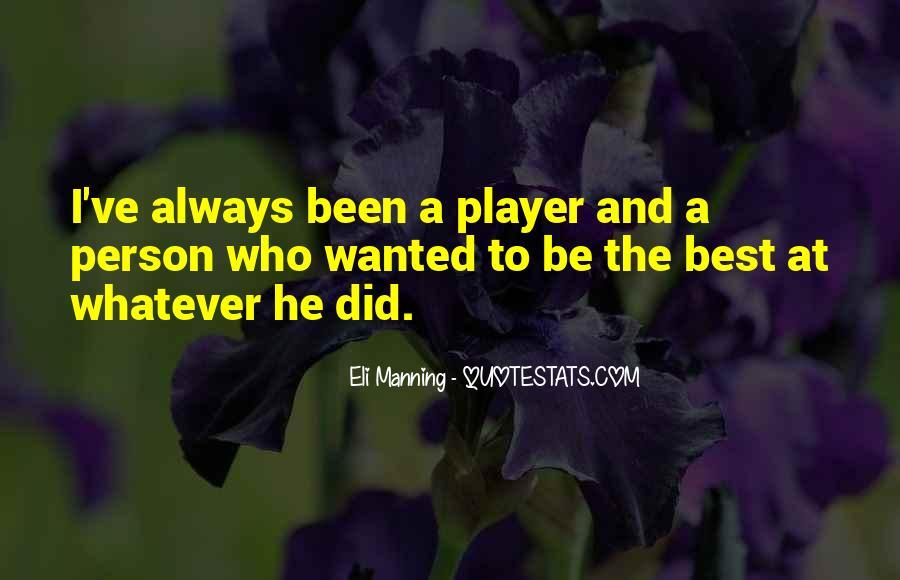 Eli Manning Quotes #1125147