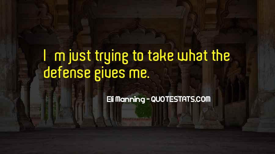 Eli Manning Quotes #121657
