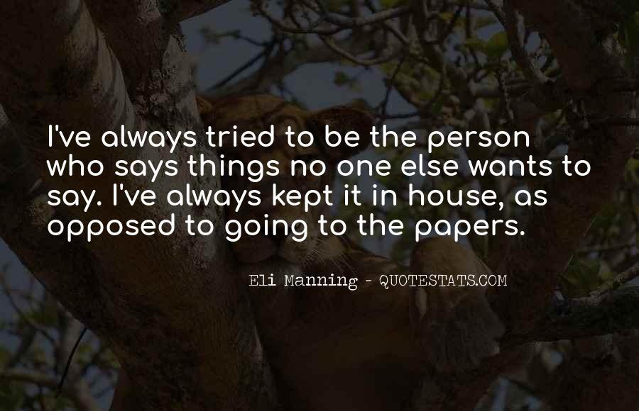 Eli Manning Quotes #1270880