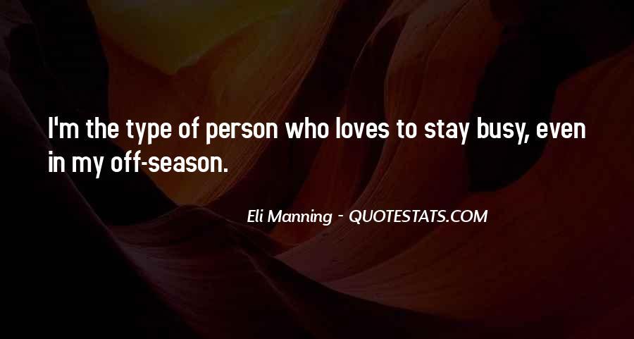 Eli Manning Quotes #127910