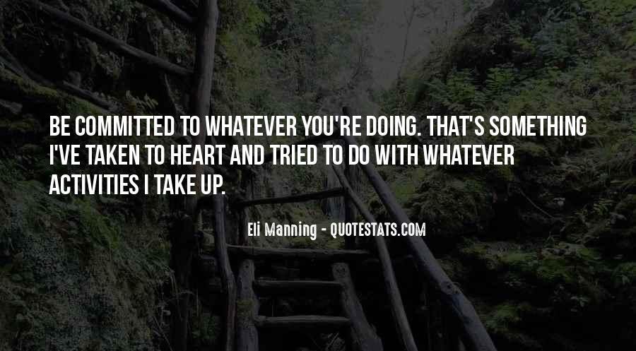 Eli Manning Quotes #1366874