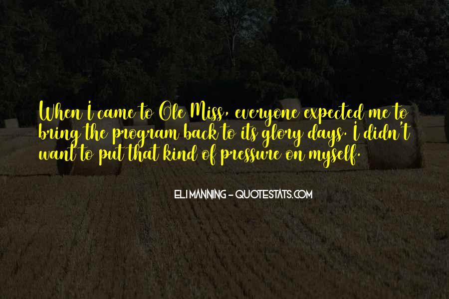 Eli Manning Quotes #1453893