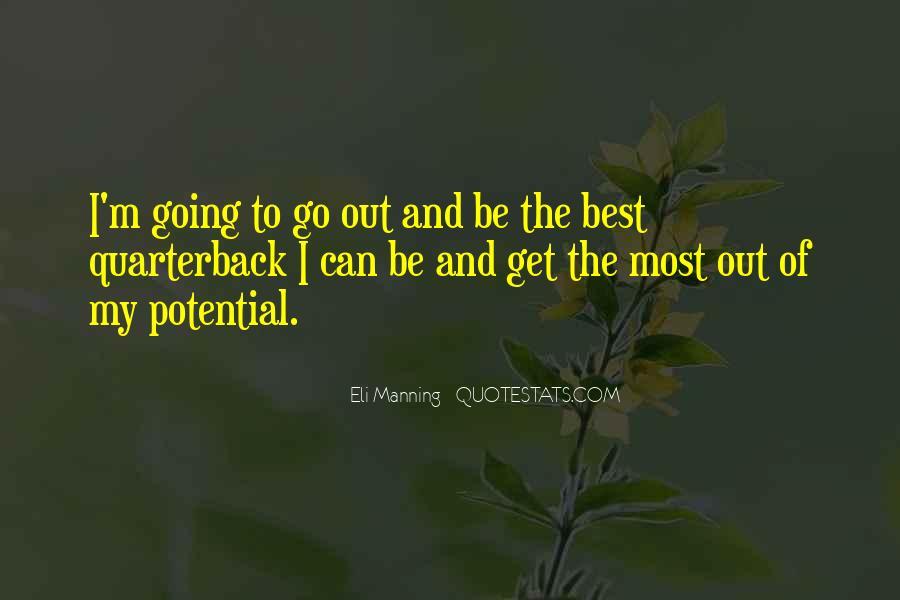 Eli Manning Quotes #1454835