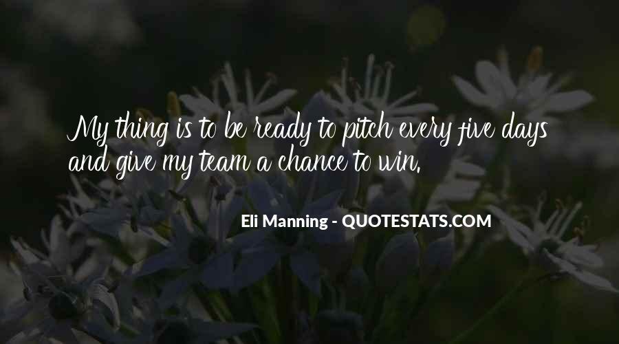 Eli Manning Quotes #1499008