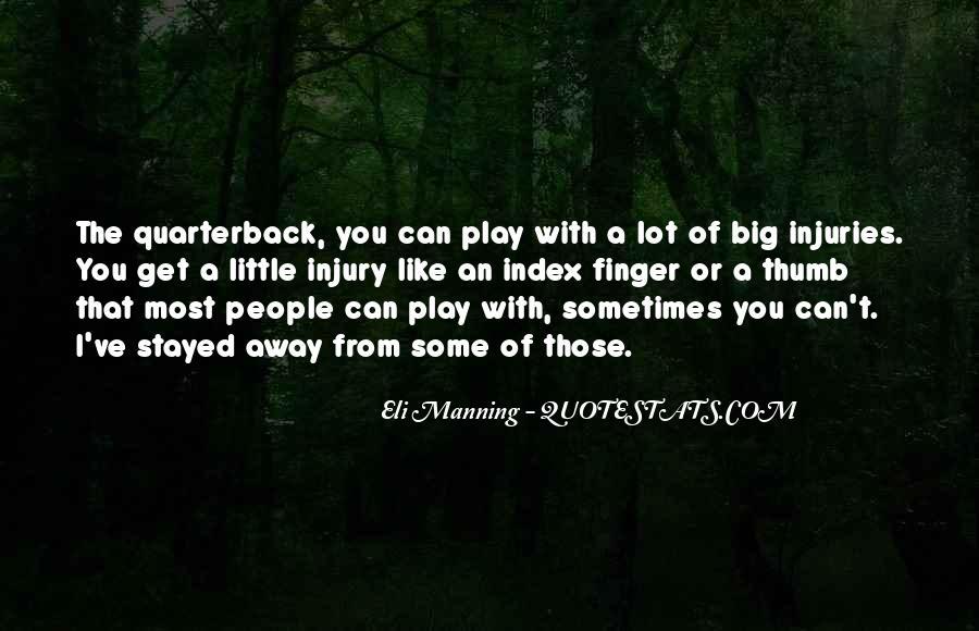 Eli Manning Quotes #1680288