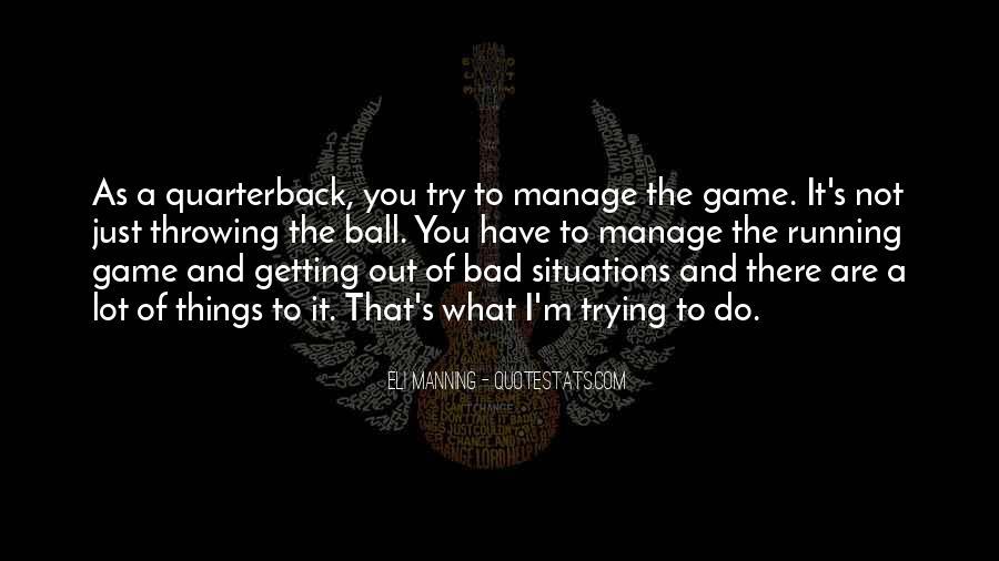 Eli Manning Quotes #1832684