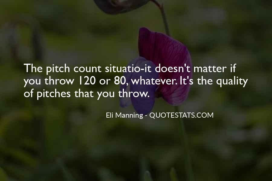 Eli Manning Quotes #25012