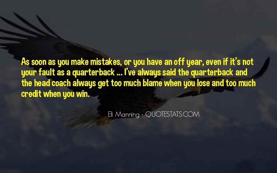 Eli Manning Quotes #301681