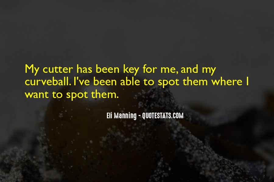 Eli Manning Quotes #38967