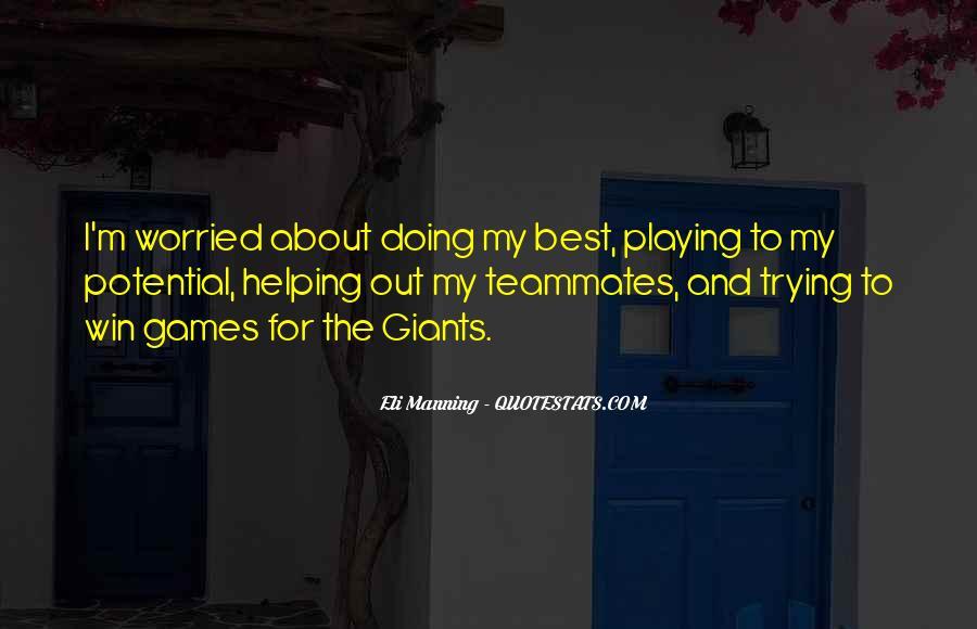 Eli Manning Quotes #536537