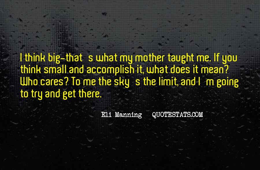 Eli Manning Quotes #797577