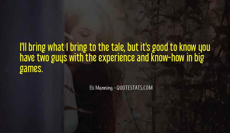 Eli Manning Quotes #821555