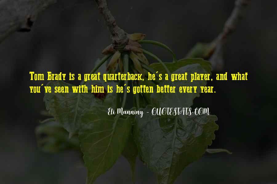 Eli Manning Quotes #890909