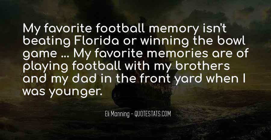 Eli Manning Quotes #987972
