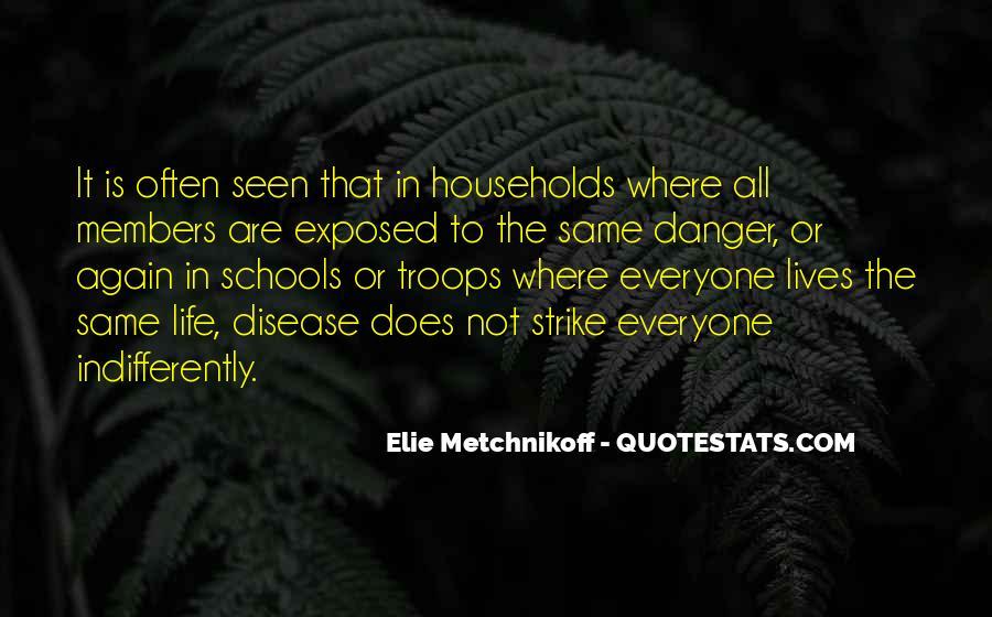 Elie Metchnikoff Quotes #650594