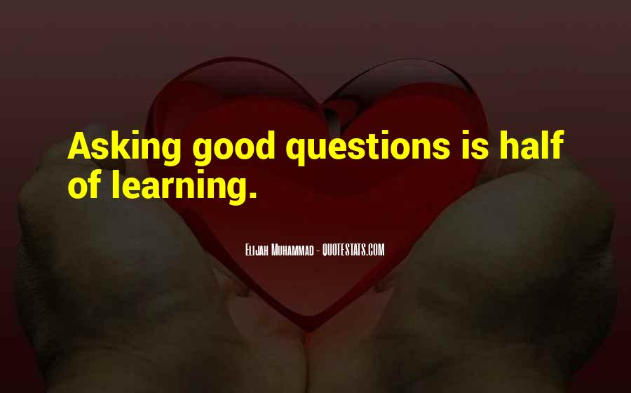 Elijah Muhammad Quotes #1129053