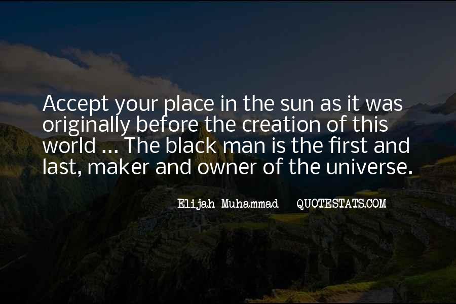 Elijah Muhammad Quotes #1483876