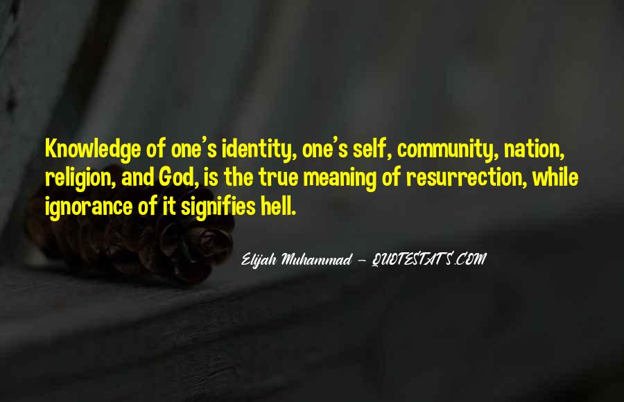 Elijah Muhammad Quotes #1574169