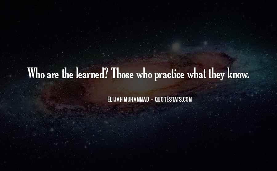 Elijah Muhammad Quotes #1721290