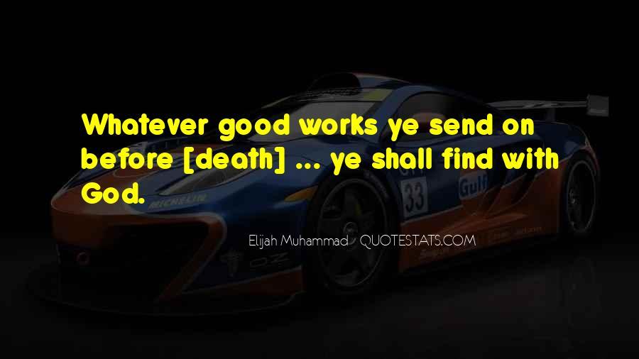Elijah Muhammad Quotes #612981