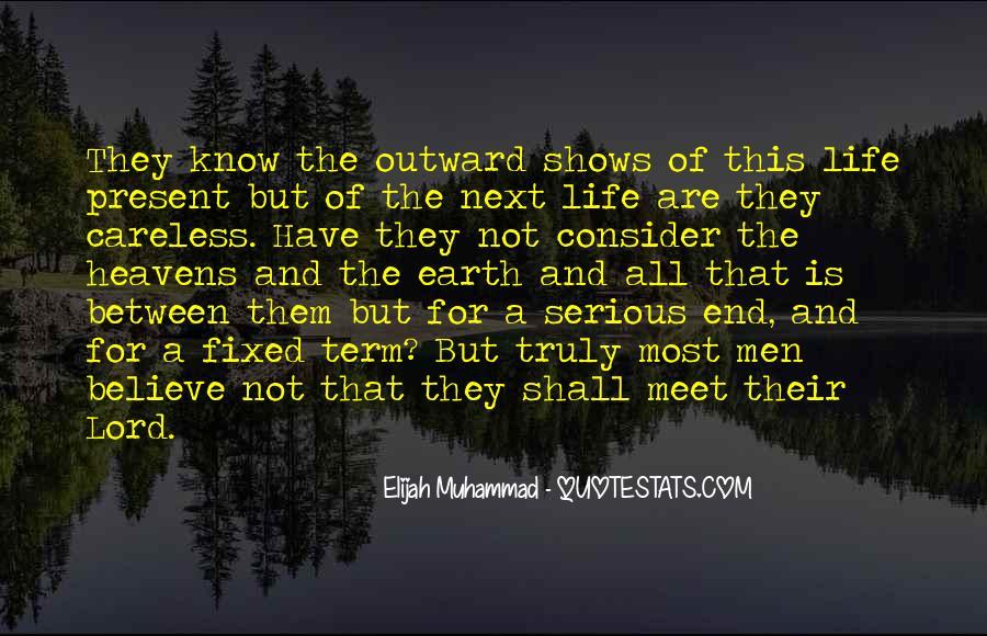 Elijah Muhammad Quotes #744905