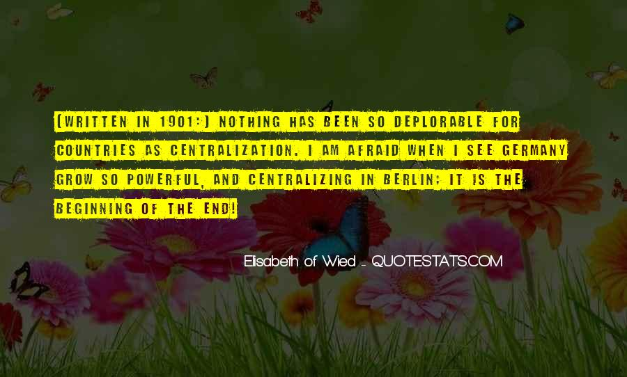 Elisabeth Of Wied Quotes #952934
