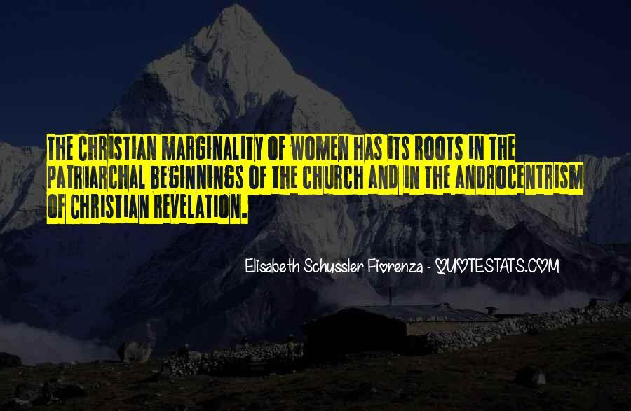 Elisabeth Schussler Fiorenza Quotes #1612725