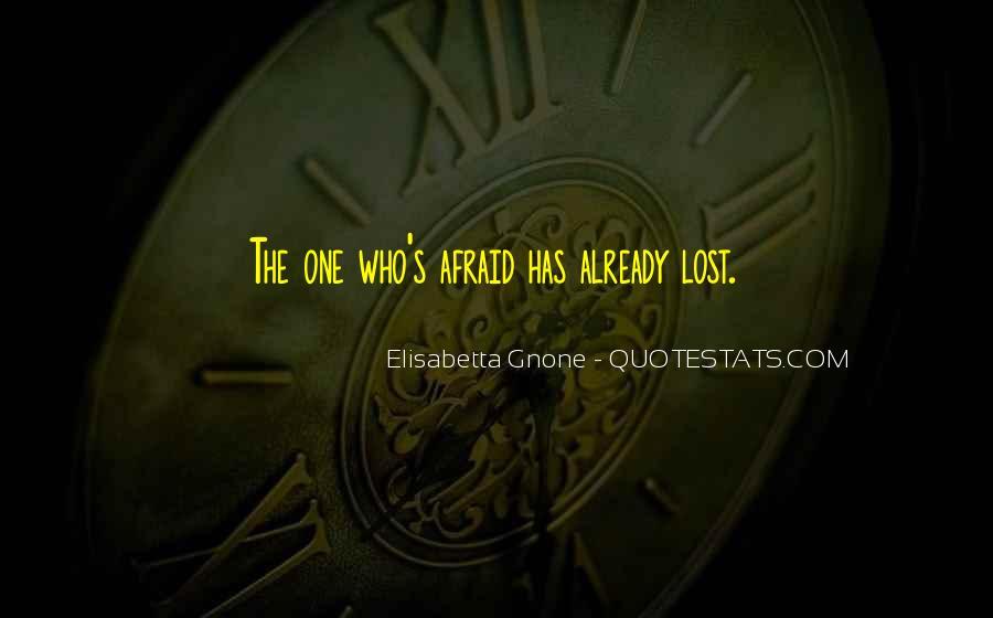 Elisabetta Gnone Quotes #216628