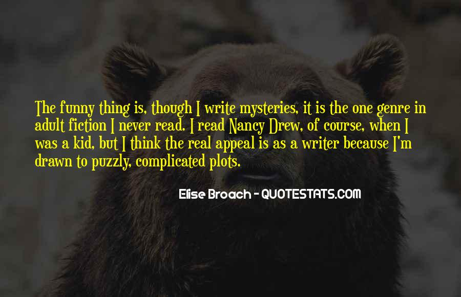 Elise Broach Quotes #1559081