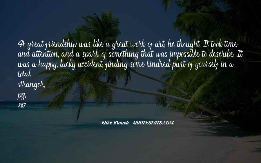 Elise Broach Quotes #173992