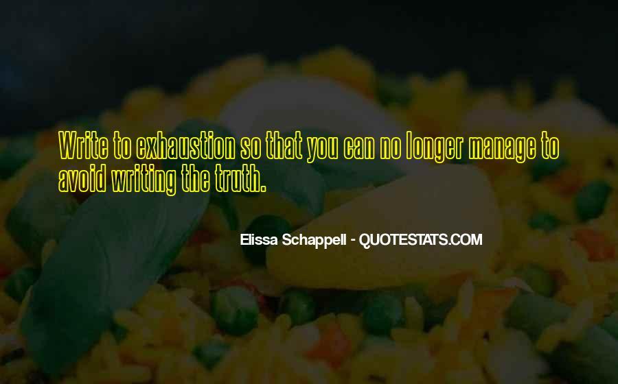 Elissa Schappell Quotes #626900
