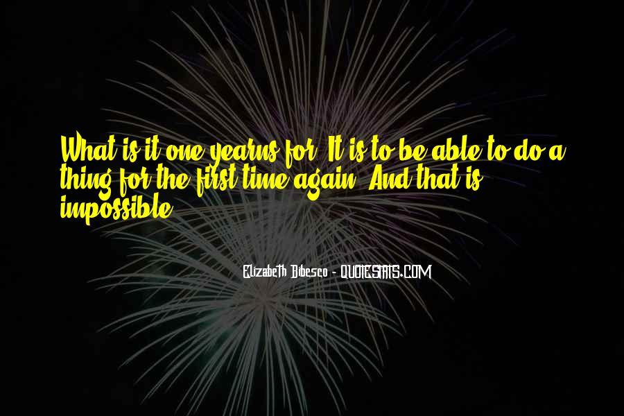 Elizabeth Bibesco Quotes #1354941