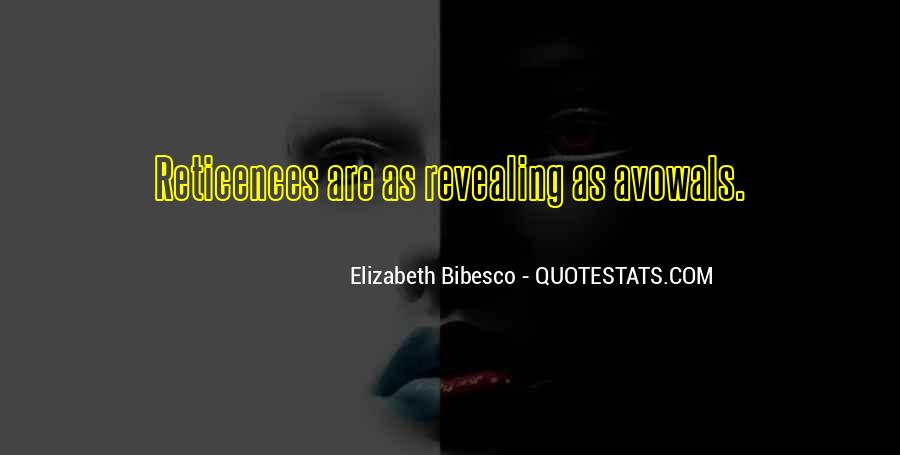 Elizabeth Bibesco Quotes #618557