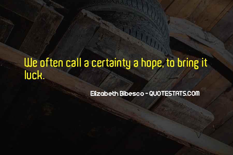 Elizabeth Bibesco Quotes #921401