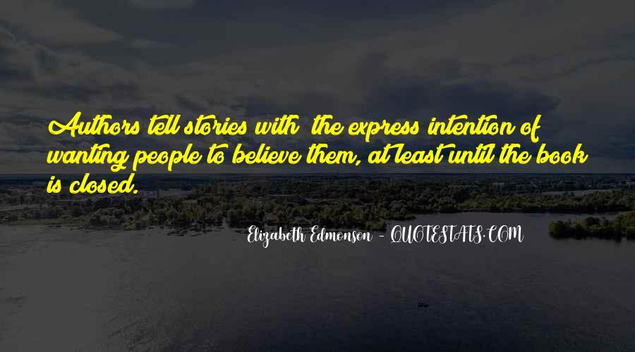 Elizabeth Edmonson Quotes #1135832