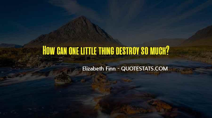 Elizabeth Finn Quotes #119666