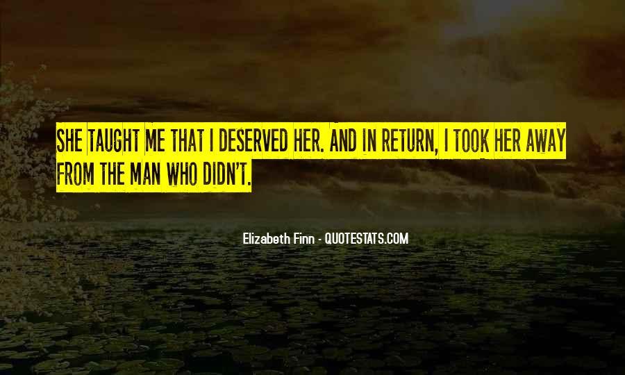 Elizabeth Finn Quotes #1207272