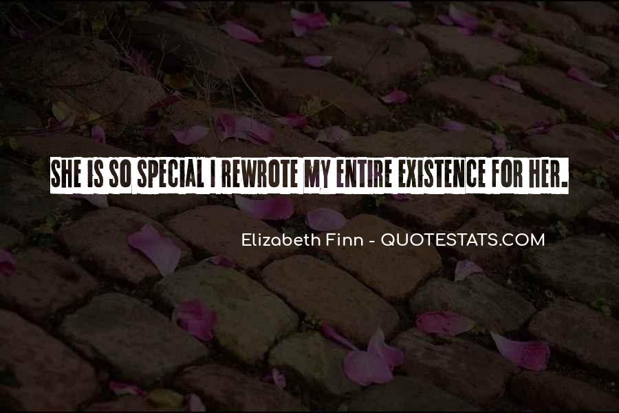Elizabeth Finn Quotes #1526983