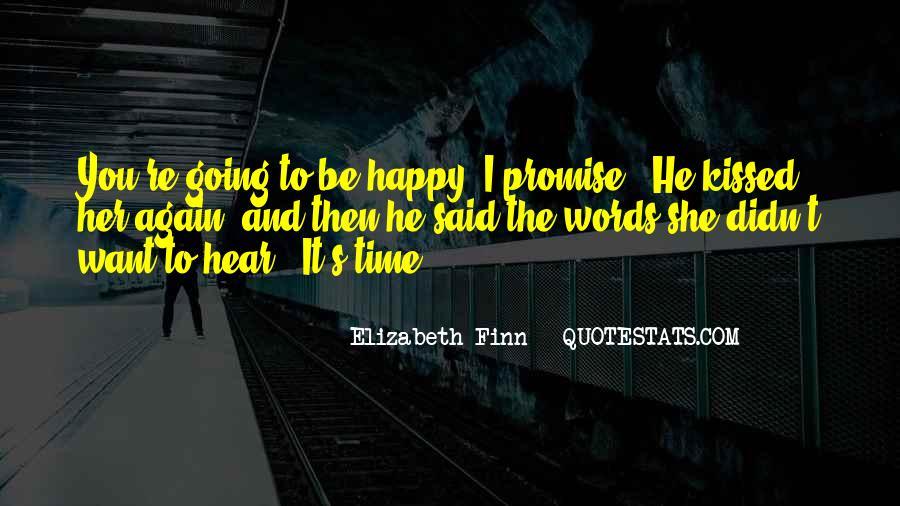 Elizabeth Finn Quotes #1576802