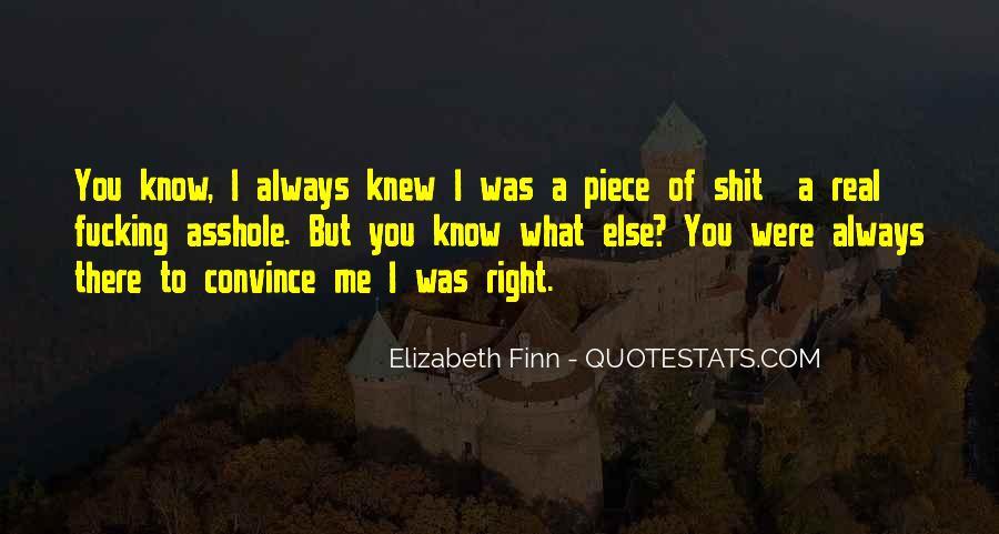 Elizabeth Finn Quotes #1663814