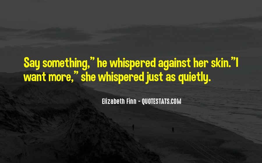 Elizabeth Finn Quotes #515334