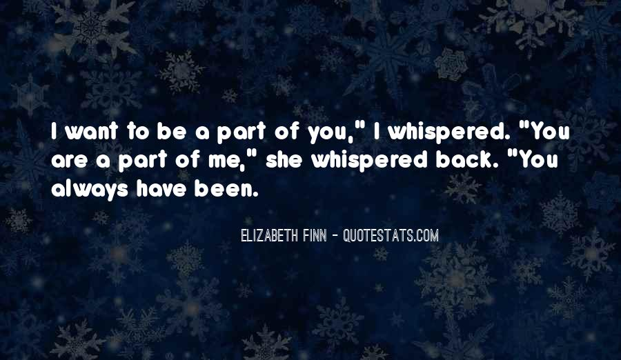 Elizabeth Finn Quotes #549697