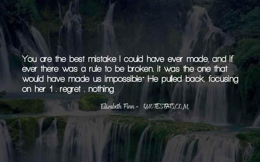 Elizabeth Finn Quotes #648769