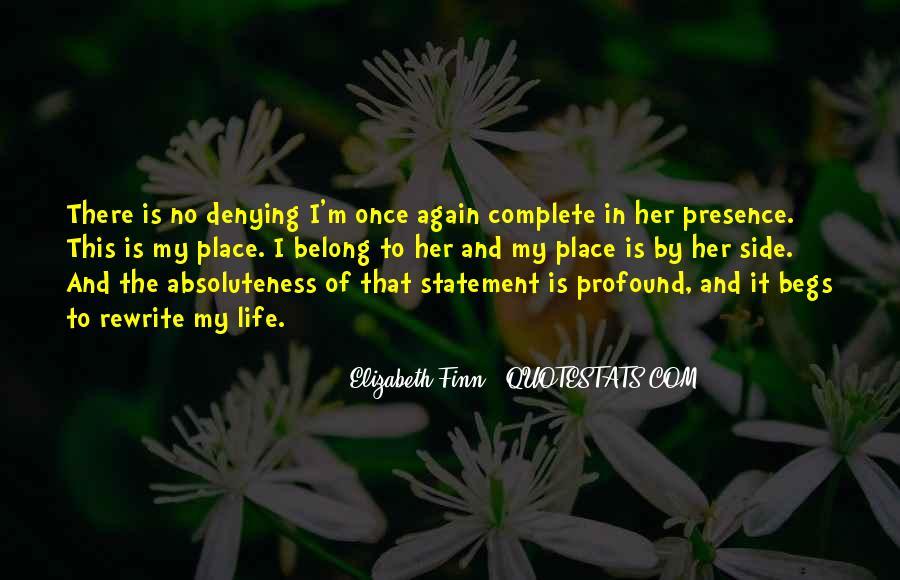 Elizabeth Finn Quotes #70284