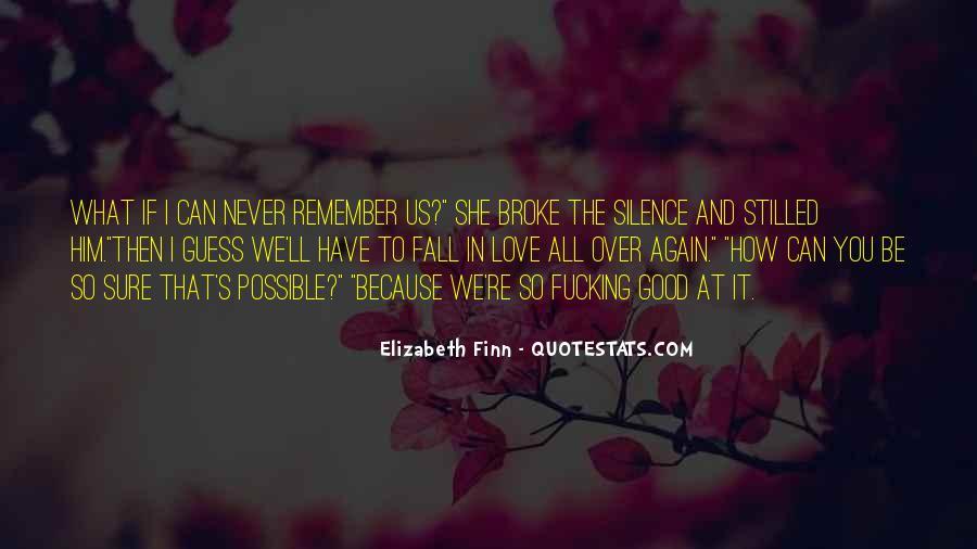 Elizabeth Finn Quotes #755504